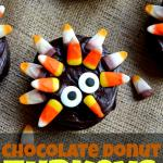 Chocolate Donut Turkeys