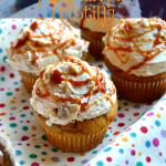 Pumpkin Cupcakes with Pumpkin Pie Frosting