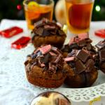 Bourbon Chocolate Cherry Cookie Bites