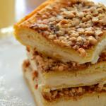 Eggnog Brulee Cheesecake Bars