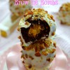 Baklava Brownie Bombs