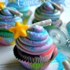 Blue Pixie Dust Cupcakes for Disney's The Pirate Fairy Movie!