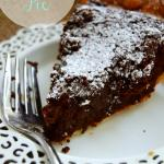 Brownie Truffle Pie {For Pi Day!!}
