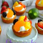 {Fresh Fruit} Cheesecake Sugar Cookie Cups