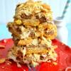 Ritz Peanut Butter Caramel S'mores Bars
