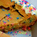 Funfetti Cookie Cake {Funfetti Week!!}