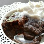 Slow Cooker Molten Lava Cake