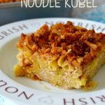 Snickerdoodle Noodle Kugel {And a Sweepstakes with No Yolks!}