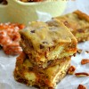 Apple Fritter Turtle Cookie Bars {Apple Fritter Week!!}