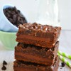 Chocolate Chocolate Chip Gooey Bars