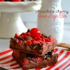 Chocolate Cherry Seven Layer Bars