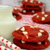 Soft & Chewy Red Velvet Cookies