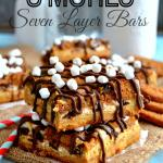Biscoff S'mores Seven Layer Bars