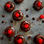 Chocolate Cherry Cookie Bites