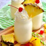 Homemade Dole Whips {No Ice Cream Machine Needed!}