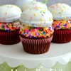 Marshmallow Puff Cupcakes