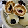 Blackberry Pie Blondie Bombs