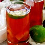 Vanilla Bean Cherry Rum Punch