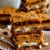 Gooey S'mores Cookie Bars