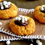 S'mores Thumbprint Cookies