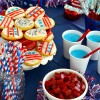 Blue Raspberry Slushies and A Patriotic Party with Twizzlers!