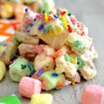 Tutti-Frutti Cookie Clusters