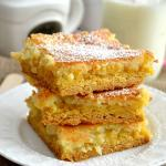 The Best Gooey Butter Cake Bars