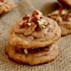 Pumpkin White Chocolate Pecan Cookies
