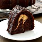 Chocolate Cheesecake Bundt Cake