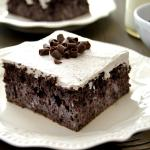 Chocolate Tres Leches Cake