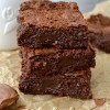 Triple Chocolate Nutella Brownies