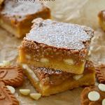 Biscoff White Chocolate Gooey Bars
