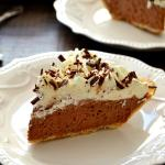 The Easiest French Silk Pie