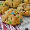 Thick & Chewy Monster Cookies