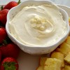 White Chocolate Marshmallow Dip