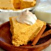 No-Bake Pumpkin Marshmallow Pie