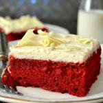 The Best Red Velvet Cake with Boiled Frosting