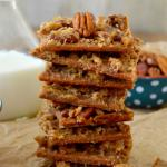 Pecan Praline Pie Bark