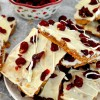 Cranberry Bliss Cracker Toffee