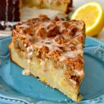Lemon Almond Crumb Cake