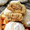 Sweet & Salty Potato Chip Caramel Snowball Cookies