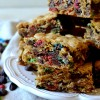 Thick & Chewy Monster Cookie Bars