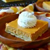Super Easy Pumpkin Cheesecake Bars