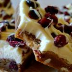 The Best Copycat Cranberry Bliss Bars