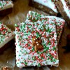 Gingerbread Blondies with Cream Cheese Icing