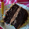 The Best Chocolate Layer Cake with Fudge Frosting