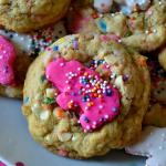 Circus Animal Sprinkle Cookies