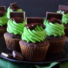 Andes Mint Cupcakes