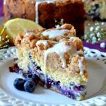 Blueberry Muffin Crumb Cake