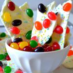 Jelly Bean Bark (2 Ingredients!)